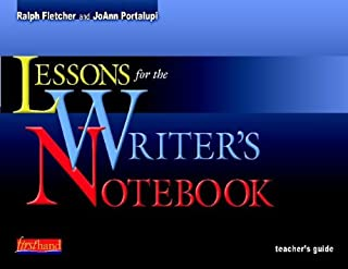 Lessons for the Writers' Notebook