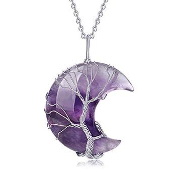 Best stone necklace pendant Reviews
