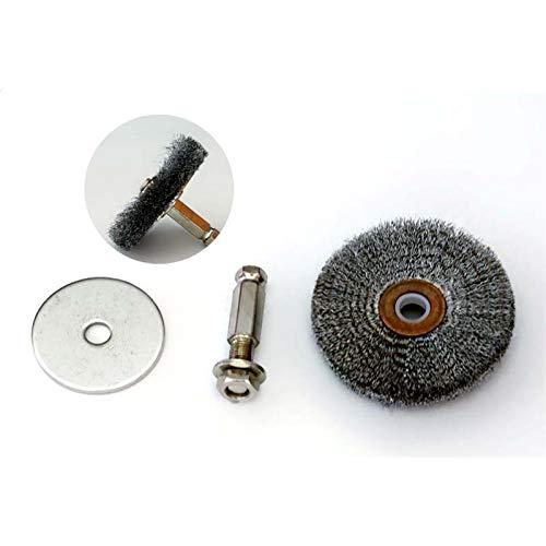 WLLOVE WULE Alambre de Acero DRUCTURIDAD Cepillo Máquina de pulir Máquina de Acero neumático Cepillo de Alambre Neumático Reparación Herramienta de molienda