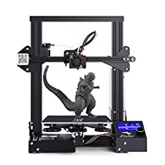 EASY TO ASSEMBLE: Ender3 3D Printer, a great product for beginners and experienced professionals, makes more fun in the 3D printing world. HIGH QUALITY PRINTING: High-precision printing makes smooth surfaces and vivid details of finished products wit...