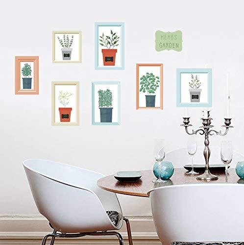 Muurstickers eenvoudige Scandinavische bloempotten Cactus Canvas Art Schilderij Print Poster Beeld muur Woonkamer Home Decor Muren