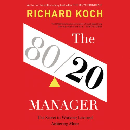 The 80/20 Manager audiobook cover art