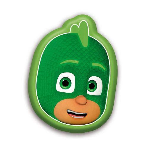 PJ Masks Form-Kissen Kopfkissen Kissen Kinderzimmer Kuschelkissen (Gecko)