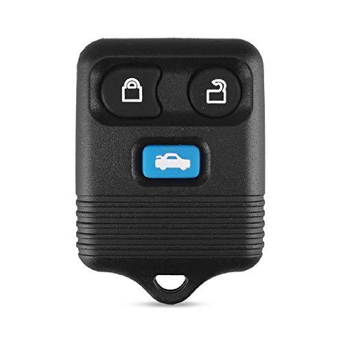 FBFGModified/Original 3 Botones Fob Remote Car Key Case Reemplazo de la Carcasa de la Llavepara Ford Escape Transit MK6 Connect 2000-2006
