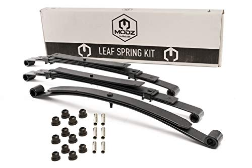 Golf Cart Club Car Precedent Front & Rear Heavy Duty Leaf Springs - Complete Set