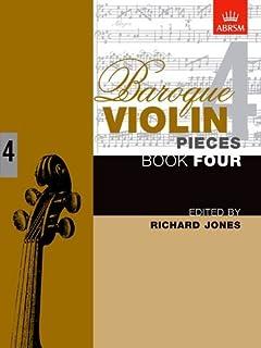 Baroque Violin Pieces, Book 4