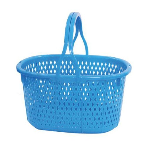 安全興業 収穫かご ブルー ×20