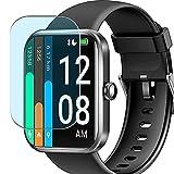 Vaxson 3 Unidades Protector de Pantalla Anti Luz Azul, compatible con YONMIG ID206 1.69' Smart Watch smartwatch [No Vidrio Templado] TPU Película Protectora Film Guard