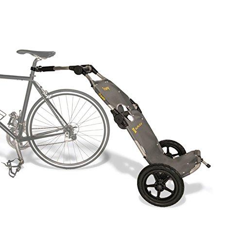 Burley Travoy (Modell 2019) Fahrrad Lastenanhänger und Einkaufs-Trolley (inkl. Kupplung) - ohne Zubehör