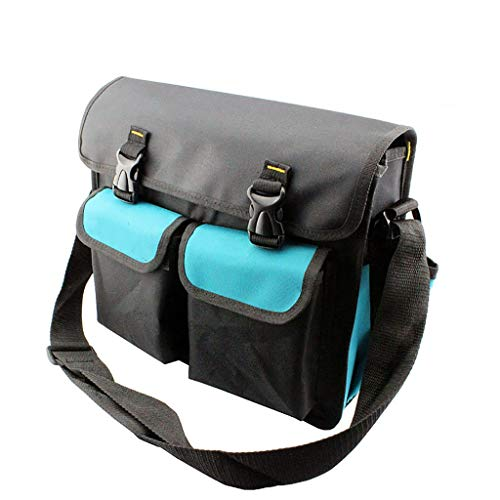 Purchase Lovela Electrician Tool Bag Canvas Large Capacity Thicken Multifunction Repair One Shoulder...