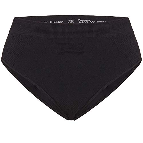 TAO Sportswear Atmungsaktive Damen Funktionsunterwäsche Slip Black 40