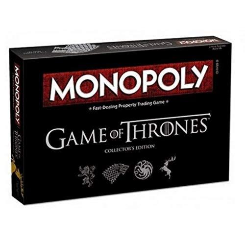 BricoLoco. Monopoly Juego de Tronos. Juego de mesa game of thrones en español.