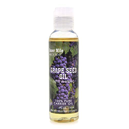 Yue668 Huile de ricin naturelle pure à l'huile de ricin aromatherapy 118ml hydratant pressé au froid hydratant pour la peau (B)