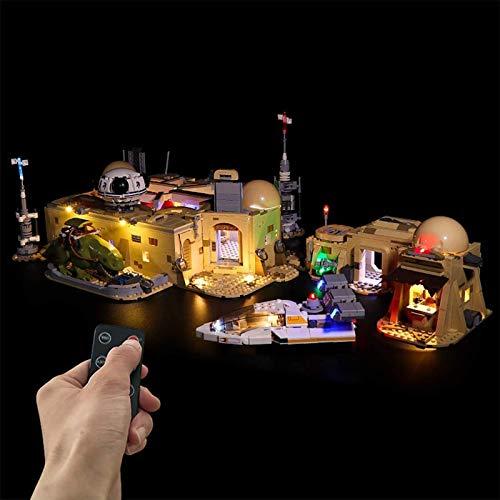 ADMLZQQ Kit de iluminación LED para (Mos Eisley Bistro) Modelo de Bloque de construcción - Kit de luz LED con alimentación USB Compatible con Lego 75290 (Modelo no Incluido),Remote Control