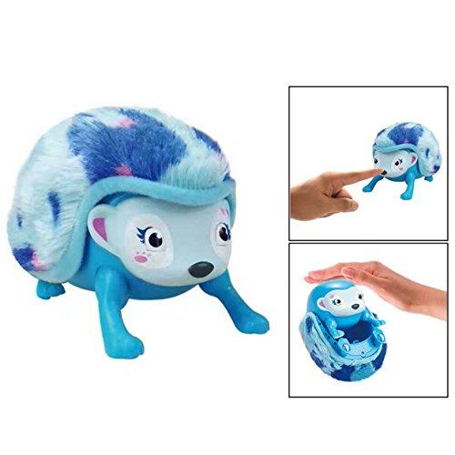 OFKPO Electrónico juguete - Hedgehog interactivo con luces (Azul)