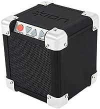 ION Audio Rock Block | Palm-Sized Wireless Bluetooth Speaker with 1/8