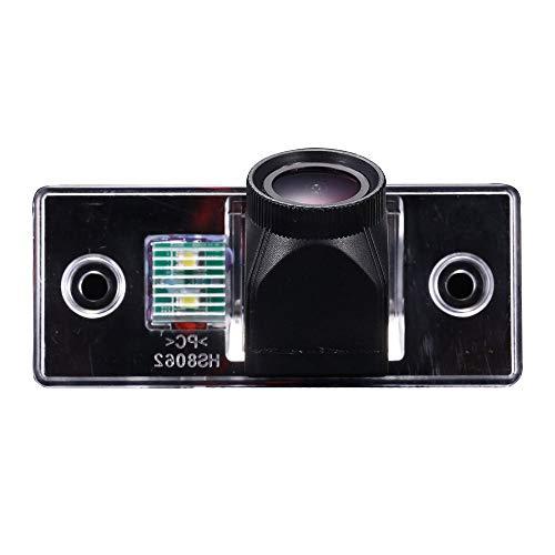 HD 20mm Objektivkamera Rückfahrkamera Farbkamera Einparkkamera Nachtsicht Rückfahrsystem Einparkhilfe IP68 für Golf Variant MK4 MK5/Tiguan/Touareg/Polo 3C/Jetta/Passat/Sharan/Bora/Skoda Scirocco Fabia
