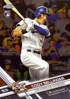 2017 Topps Chrome Update Baseball #HMT81 Cody Bellinger Rookie Card - 1st Career All-Star Game
