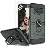 Jeylly Case for Galaxy S7 Edge with Soft Screen Protector,