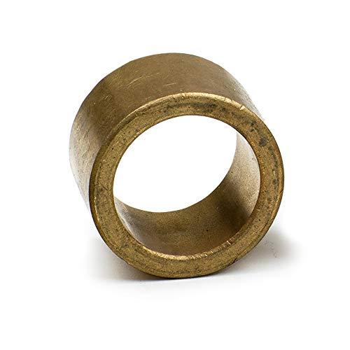 2x Sinterbronze Lager Ø 10x14x10mm für Wellen mit Ø 10mm - Bronze Lager - wartungsfreies Gleitlager - Sinterbronze Zylinderlager Buchse