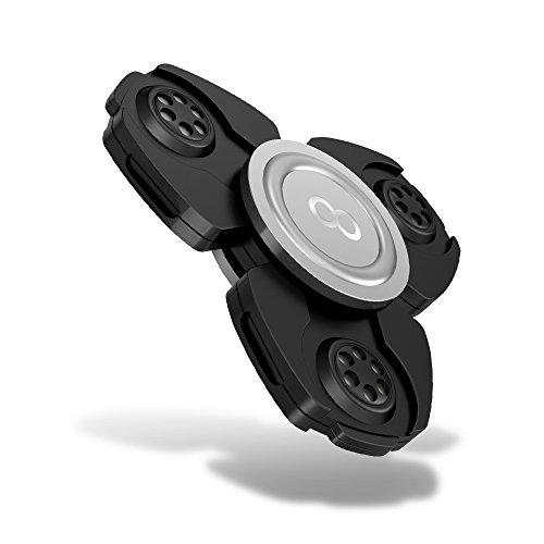 Maxboost Fidget Spinner, Fidget Spinner [Advanced Alloy Series] Focus Toy Phone Stress Reducer for Kid, Adult [Prime Premium Bearing] Hands Finger Figit Toys Perfect for Anxiety, Autism (MB000157)