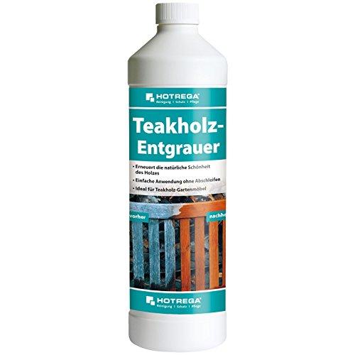 HOTREGA h230220001Teak Legno Entgrauer, Prodotto Professionale per Pulizia