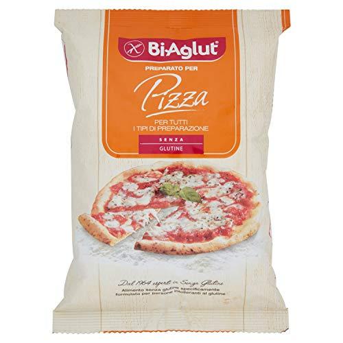 Biaglut Preparato per Pizza - 500 gr, Senza glutine