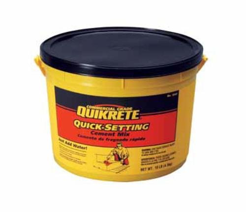 Quikrete Quick Setting Cement 10-15 Min 10 Lb