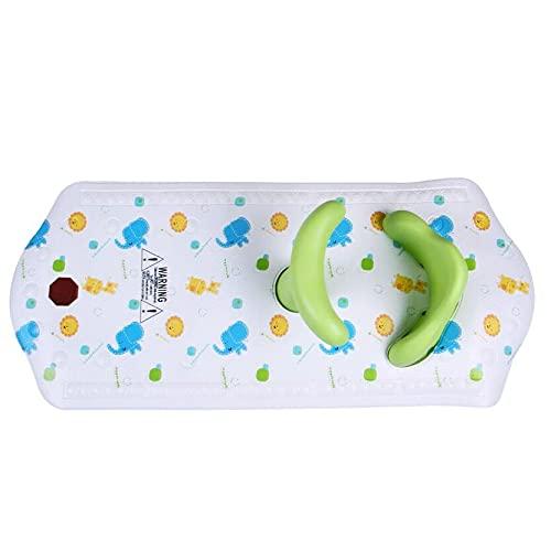 WHEEJE Sillas de baño Matera de baño de bebé con asiento de ducha para bebés Asiento de seguridad para bebés para niños con estera...