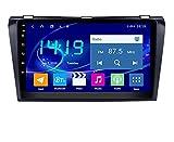 ZBHWYD Adecuado para 04-09 MAZDA3 Starz Car GPS Navigator Carplay Incorporado, Android 10 8 Core 4 + 64g Coche Radio Multimedia Player GPS Navegación GPS (Size : Mazda3)