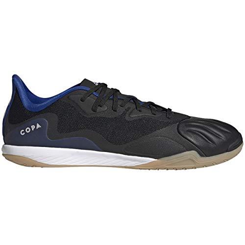 adidas Men's Copa Sense.1 Indoor Sala Soccer Shoe, 8.5 M, Core Black/Cloud White/Royal Blue