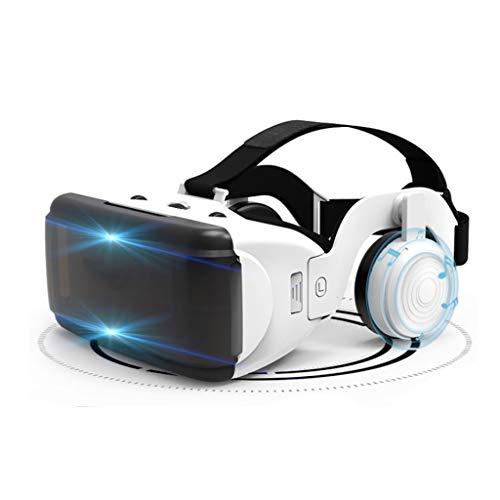 VR Brille Virtual Reality Brille 3D VR Headset Handy Augenschutz für 3D-VR-Filme Videospiele für Das iPhone 12/Pro/Max/Mini/11/X/Xs/8/7 für Samsung & Android-Handys, 4.7-6.8Zoll, Z097MK
