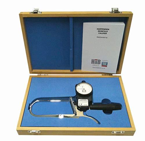Harpenden - Plicometro, Misuratore di grasso corporeo con calibro, Adipometro, Calibro