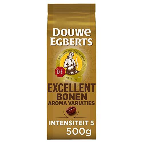 Douwe Egberts Koffiebonen Aroma Variaties Excellent (2 kg, Intensiteit 05/09, 100% Arabica Medium Roast Koffie), 4 x 500…