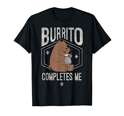 CN We Bare Bears Grizzly Burrito Completes Me T-Shirt