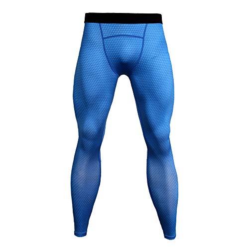 YUNSW Pantalones De Fitness para Hombre Pantalones Deportivos 3D para Correr Pantalones De Compresión Ajustados Mallas Elásticas Pantalones De Secado Rápido