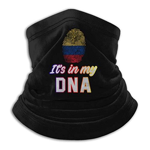 WH-CLA Face Scarf Colombia Está En Mi ADN Diademas Montar Especial Cuello Polaina Pesca Protector Solar Deporte Al Aire Libre Colorido Tocado Senderismo Regalo Pañuelo Facial Correr Perso