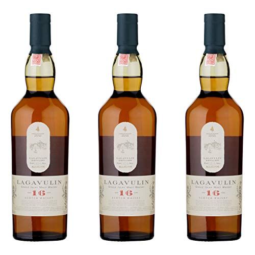 Lagavulin 581364 - Lote de 3 Botes de Whisky (43%, 200 ml)