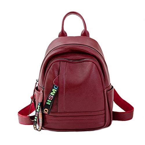 Womens Mini Rugzak portemonnee mode anti-diefstal lederen rugzak casual schattig tas klassieke multifunctionele winkelen kleine tas