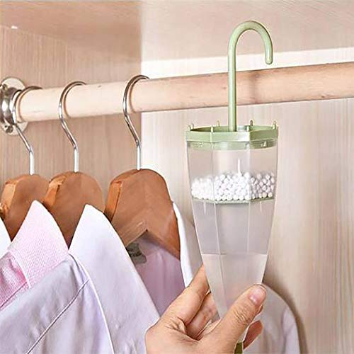 Acazon Closet Dehumidifier, Hanging Moisture Absorber Box,Wardrobe Interior Dehumidifier, Reusable Dry Bag for Storage Closets and Small Spaces