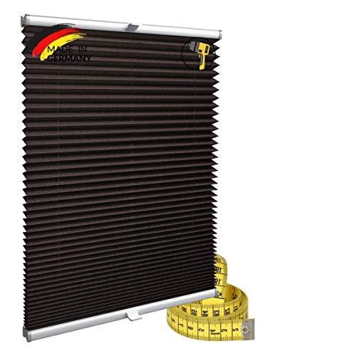 Gardinen21 Konfiguriern Sie Ihr eigenes Plissee mit Bohren Maßgefertigt für Türen & Fenster   Sonnenschutz und Blickdichte Rollos
