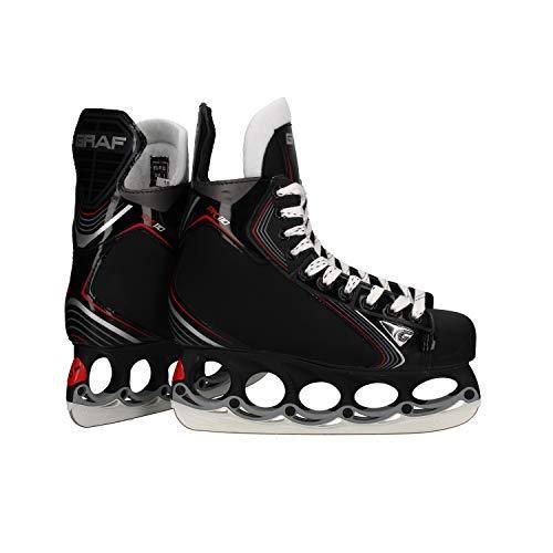 GRAF tblade Schlittschuhe Pk110 Eishockey und Freestyle mit t-Blade Kufe (47)