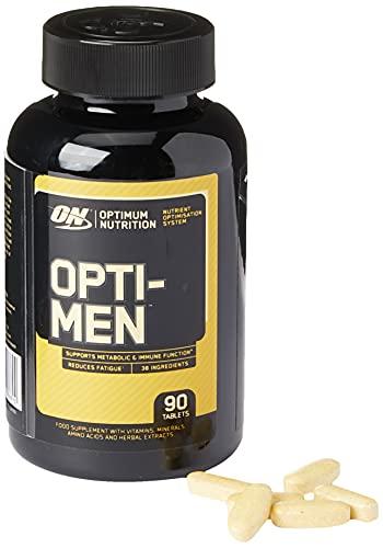Optimum Nutrition Opti-Men Multivitamin Supplements for Men with Vitamin D,...