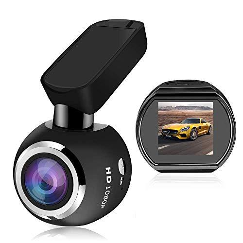 Coche registrador de la conducción Full HD 1080P DVR de coches, Wi-Fi Car Dash Cam 1.54' LCD 170 grados extra de visión amplio ángulo de la cámara del coche del registrador, G-Sensor, WDR, grabación d