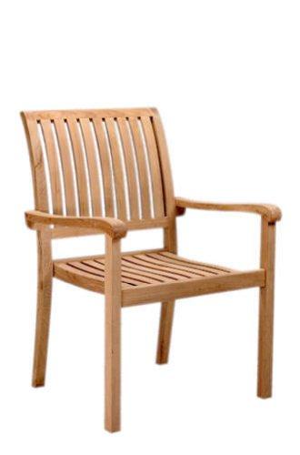 Price comparison product image Aspen Stackable Armchair Set of 4