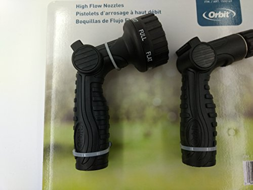 Orbit Hose High Water Flow Nozzles Two Pack (2PK)