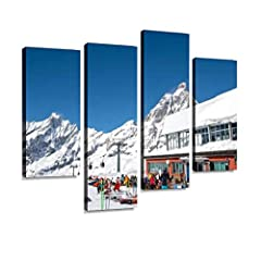 The Canvas art wall has been expertly stretched (gallery wrapped )wood frames which come ready to hang with hooks. Your art now effortlessly complements your wall. We inspect the artwork at every step of the finishing process, then carefully pack you...
