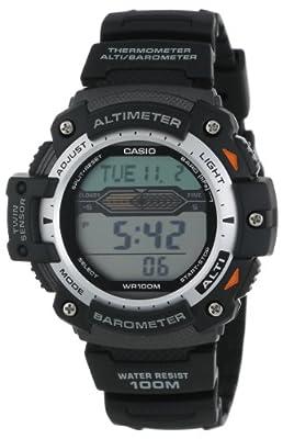 Casio Men's SGW300H-1AVCF Twin Sensor Multi-Function Digital Sport Watch