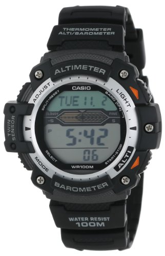 Casio Sports Quartz Watch with Resin Strap, Black, 24 (Model: EAW-SGW-300H-1AV)