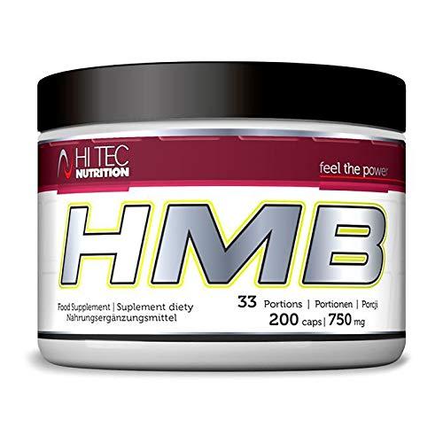 Hi Tec HMB 200 Capsules | Anabolic | Muscle Building Pills | Anabolic & Anticatabolic | Fat Burner | Food Supplement